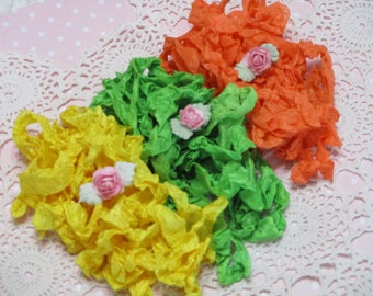 Pretty Ribbons-SUMMER FRESH-Seam Binding-Crinkled-ATC-Supplies-15 yards