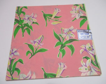Vintage Dennison Gift Wrap-Wrapping Paper-Easter-Lillie's-Retro-Mid Century-Full Sheet-Wrapping Paper