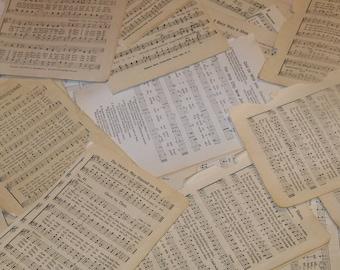 Vintage Paper Ephemera Packs-MUSIC-25 pieces