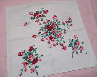 Vintage Wilendur Princess Roses Kitchen Towel-Valentines Day-Pristine