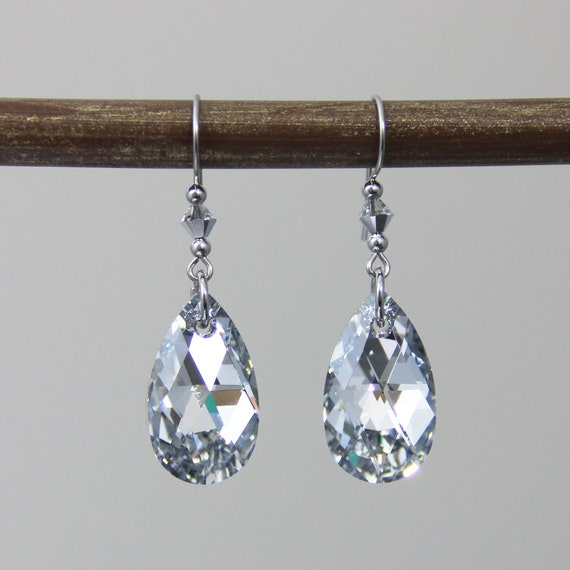 Twinklees Girls Crystal /& Tassel Leverback Earring