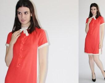D - Saks Fifth Avenue Dress -  60s Mod Dress - The  Mari Dress - 8044