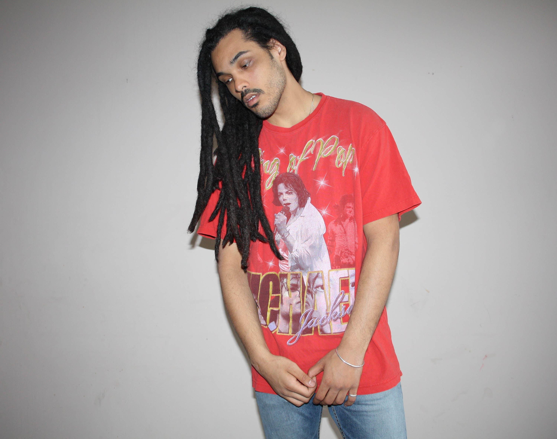 fe8956d877e Michael Jackson T Shirts With Glitter | Top Mode Depot
