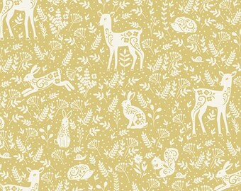 Neutral Baby Bedding toile -QUICK SHIP  YELLOW Crib Sheets /Fitted Crib Sheet Bunny /Cot Bedding /Babiease Bedding