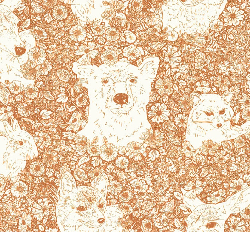 Rust Baby Bedding Cinnamon Fitted Crib Sheet /Changing Pad image 0