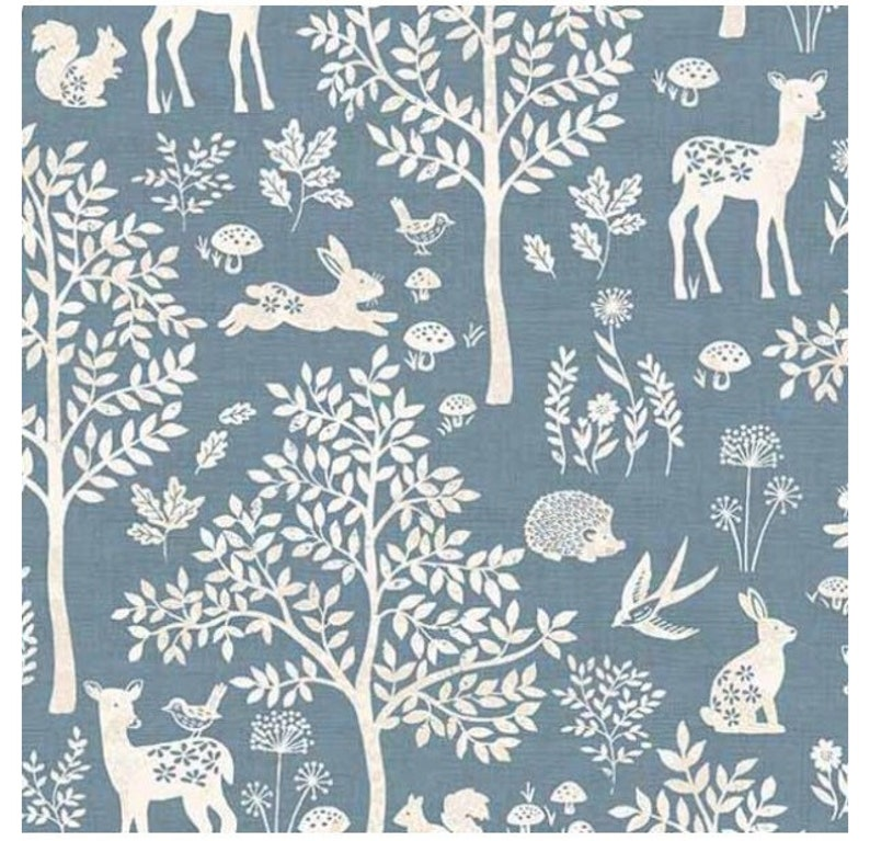 Changing Pad Sheet READY to SHIP NEUTRAL Nursery Woodland image 0
