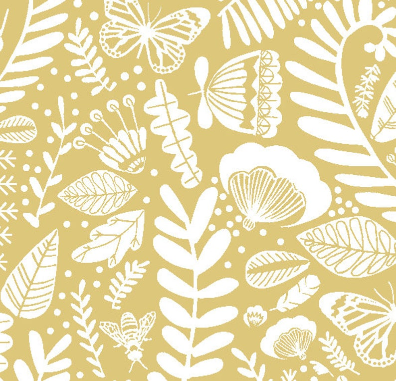 Yellow Gold Baby Bedding READY SHIP Yellow Fitted MINI Sheet image 0