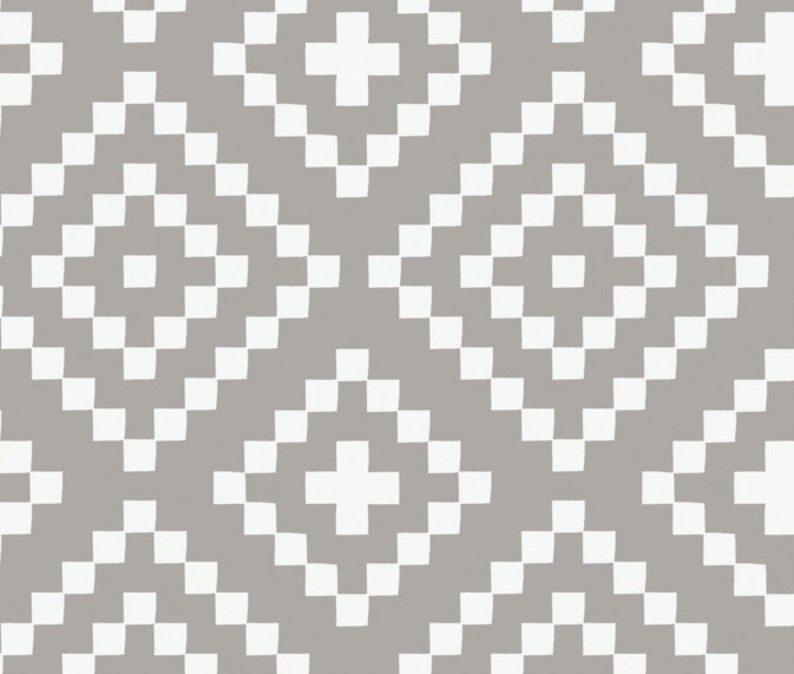 READY to SHIP Changing Pad Cover Grey White Nursery Modern Baby Bedding Aztec Neutral Nursery Changing Table Cover Neutral Changing Mat