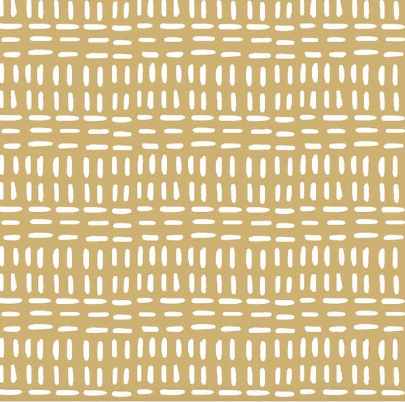 Mustard Baby Bedding ORGANIC READY SHIP Fitted Crib Sheet image 0