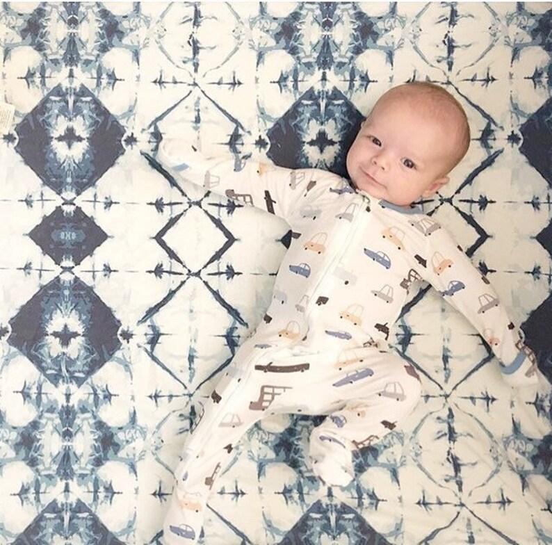 Boho Baby Bedding  Fitted Crib Sheet / Mini Crib Sheets / image 0
