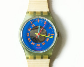 1980s Classic Vintage Women's Swatch Watch