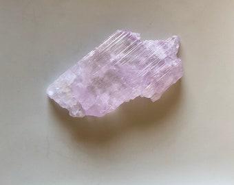 Unique Pink Kunzite Crystal