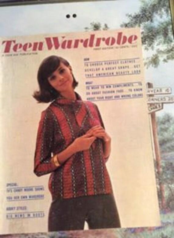 Vintage 1963-1964 Teen Wardrobe Magazine First Edition Lots Of