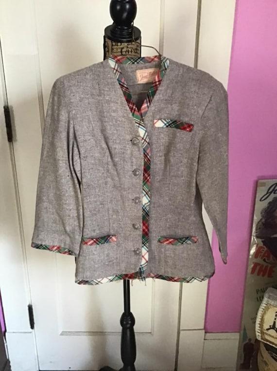 Vintage 1930's Jacket Blazer *Original Joan Miller