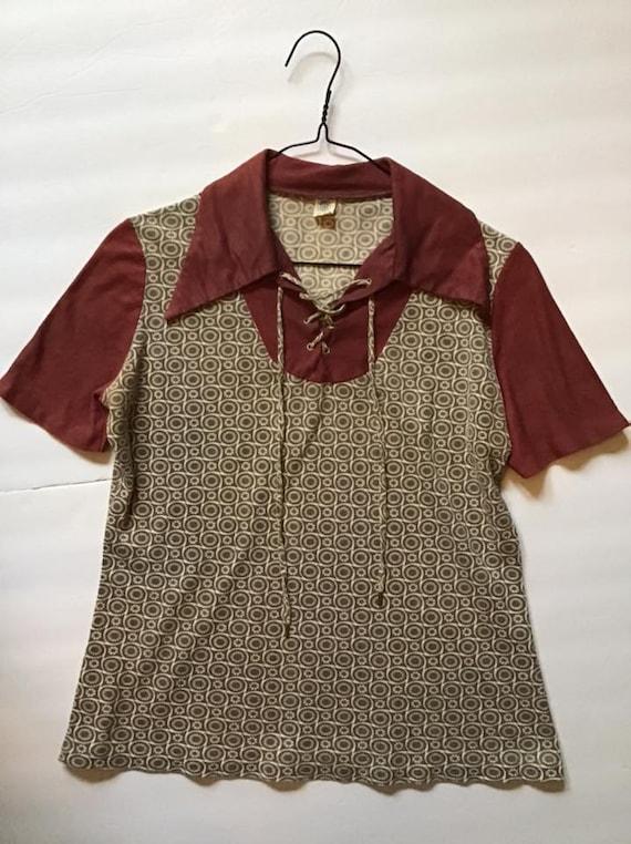 Vintage 1960's 1970's Shirt *Little Boys OR Petite