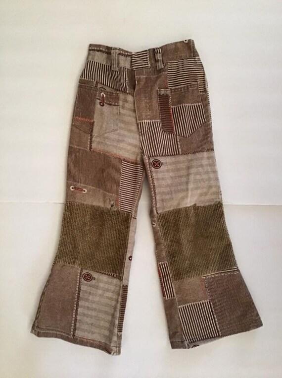 Vintage 1960's 1970's Pants Trousers LITTLE BOY'S