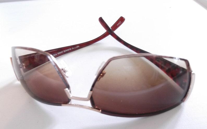 887bdafa49 Vintage 1980s Sunglasses Foster Grant Brown Ombre Lenses