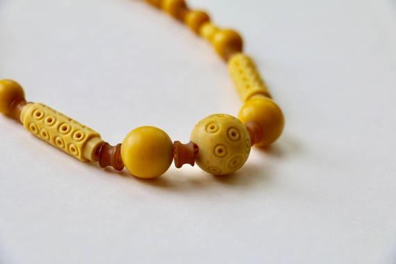 Vintage Necklace 1930s Necklace 1940s Necklace Cel