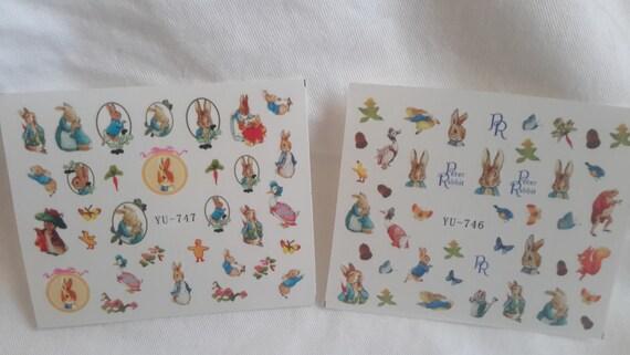 beatrix potter peter rabbit stickers