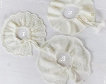Knit Ruffle collars Kids accessory Lace ruffle collar Baby collar Handmade gift