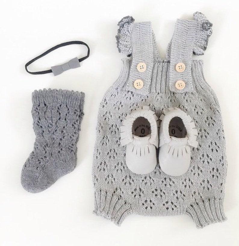 058b25574d91 Baby Strampler Baby Mädchen Kleidung stricken Spitze Baby