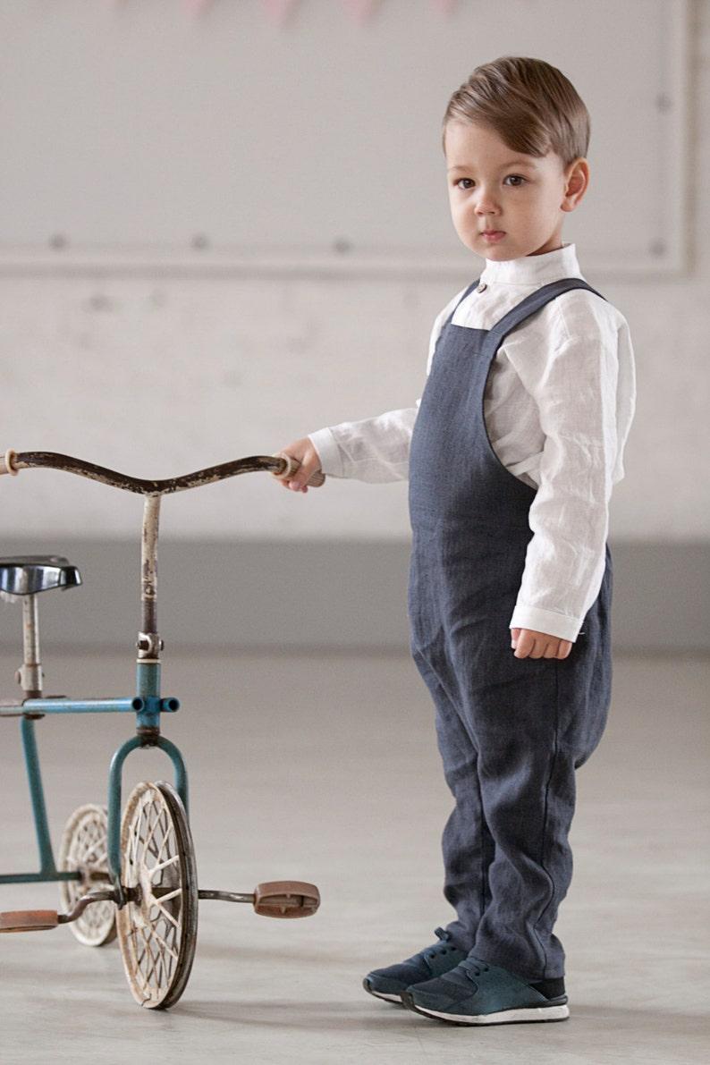 8269f3ffc0b Harem Pants with suspender Boy romper Unisex kids Harem
