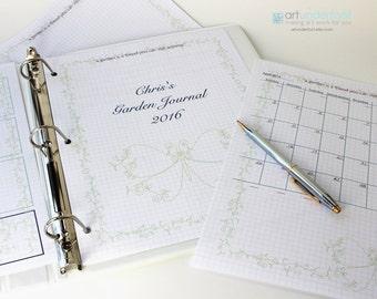 PDF Gardening Journal  Pretty Vine Butterfly