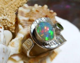 2.5ct Solid Boulder Australian Opal Queensland 1973A007 Natural Untreated Loose Opal Piece SKU