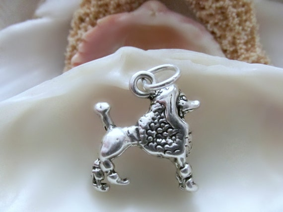 Sterling Silver Husky Charm Measures 14x14mm