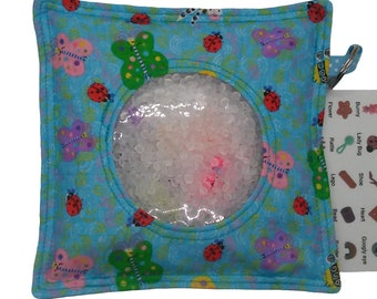 fidget bag 2 lbs 6 patterns I Spy Bag sensory toy large