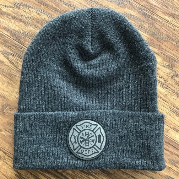 Fire Rescue Classic Maltese Cross Mens Beanie Cap Skull Cap Winter Warm Knitting Hats.