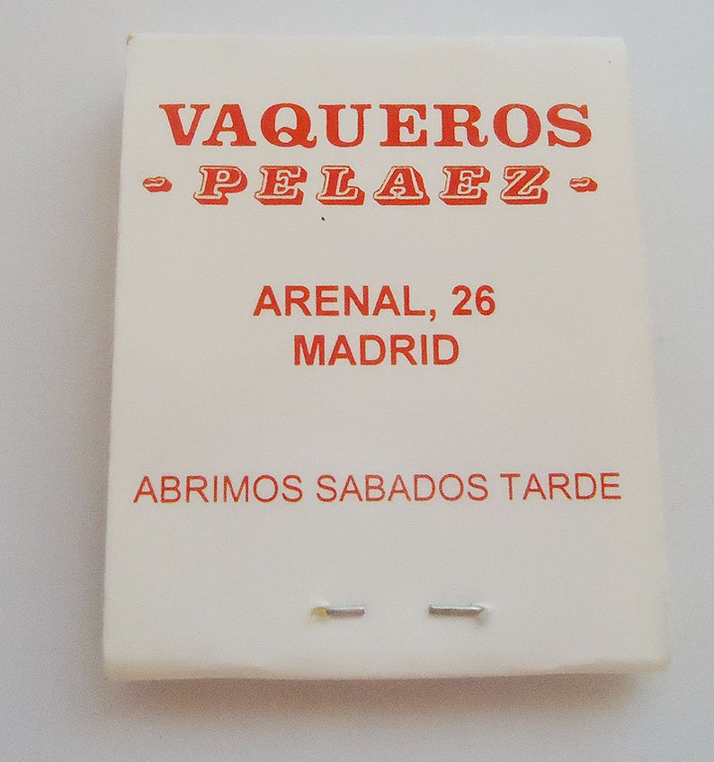 The Spanish Match.90s