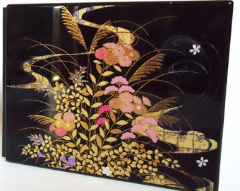 Autumn Festival Picture Frame. 70s.Japanese