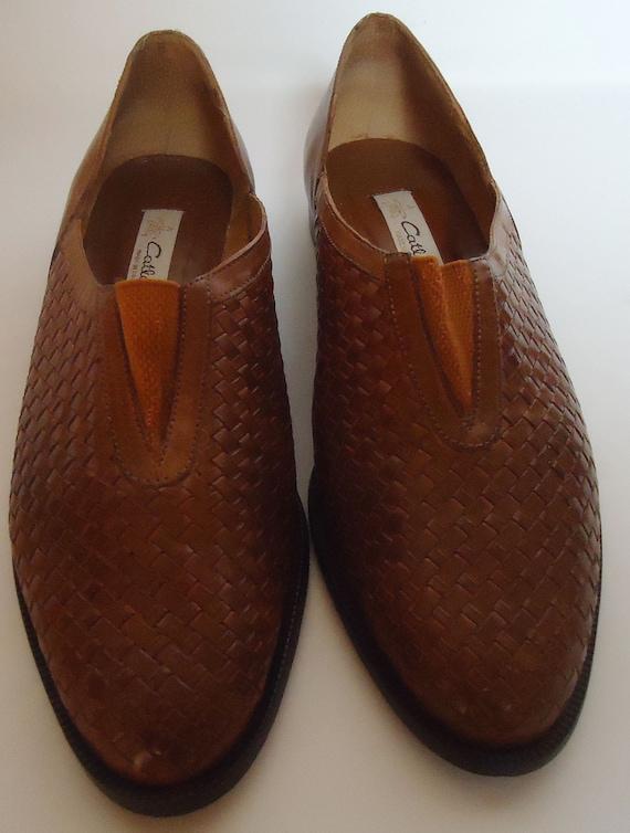 Brazilian Vintage Men's Brown Leather Shoes