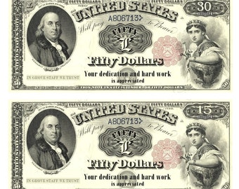 graphic relating to Fake Money That Looks Real Printable referred to as Untrue dollars Etsy