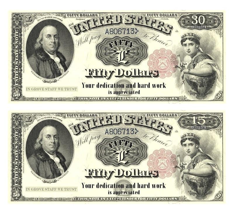 graphic regarding Printable Dollar Bills named Wrong Dollars Antique Forex Greenback Expenditures - Electronic Down load Printable - customized grove ladies
