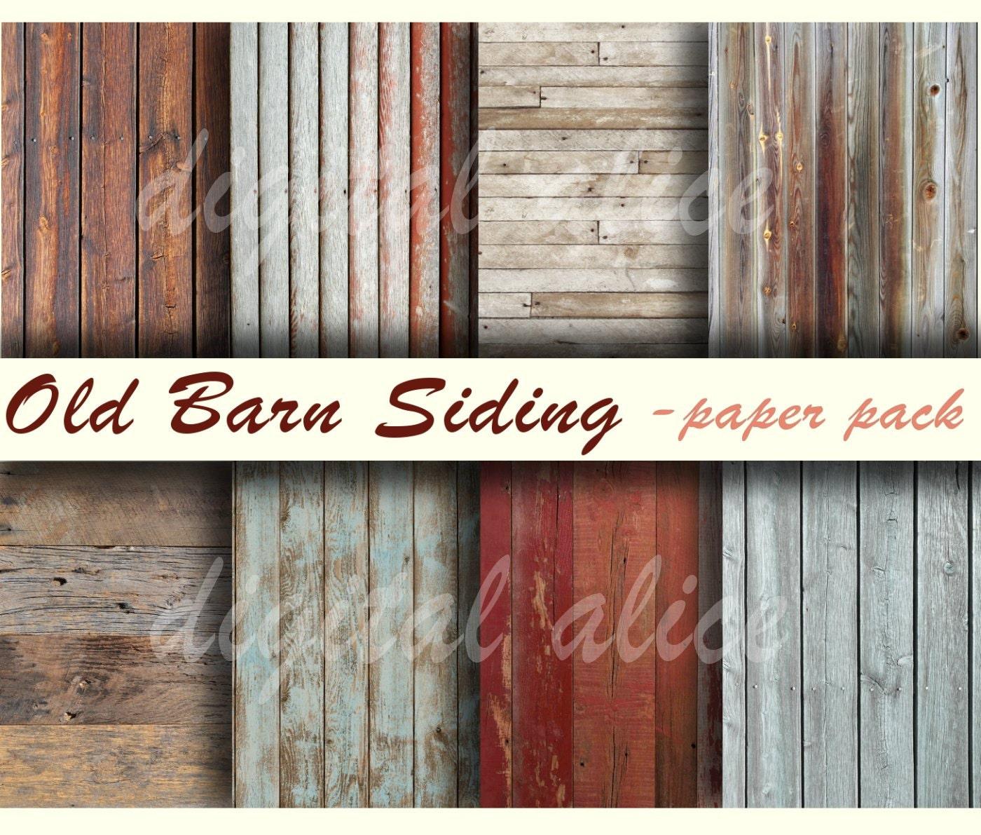 Old Barnwood Textures Paper Pack Digital Papers 8 Worn