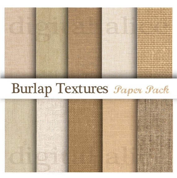 Burlap card stock Printable Natural Burlap Paper Pad Laminated Burlap Paper for Burlap Prints 10 sheets in 1 pack Size 8.5 inches x 11 inches Burlap scrapbooking supplies