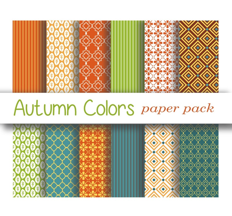 photo relating to Printable Patterned Paper named AUTUMN Shades PAPERS - printable patterned paper backgrounds for crafts, pictures, Wallpaper, Wedding day, Celebration, Slide Year- 12 Papers