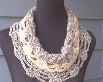 PATTERN 105 - Crochet Pattern to make the Junie Cowl