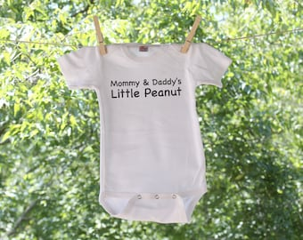 e43eb60acd56 Mommy & Daddy's Little Peanut Infant Bodysuit