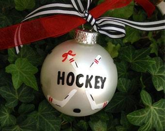 Field hockey ornament   Etsy