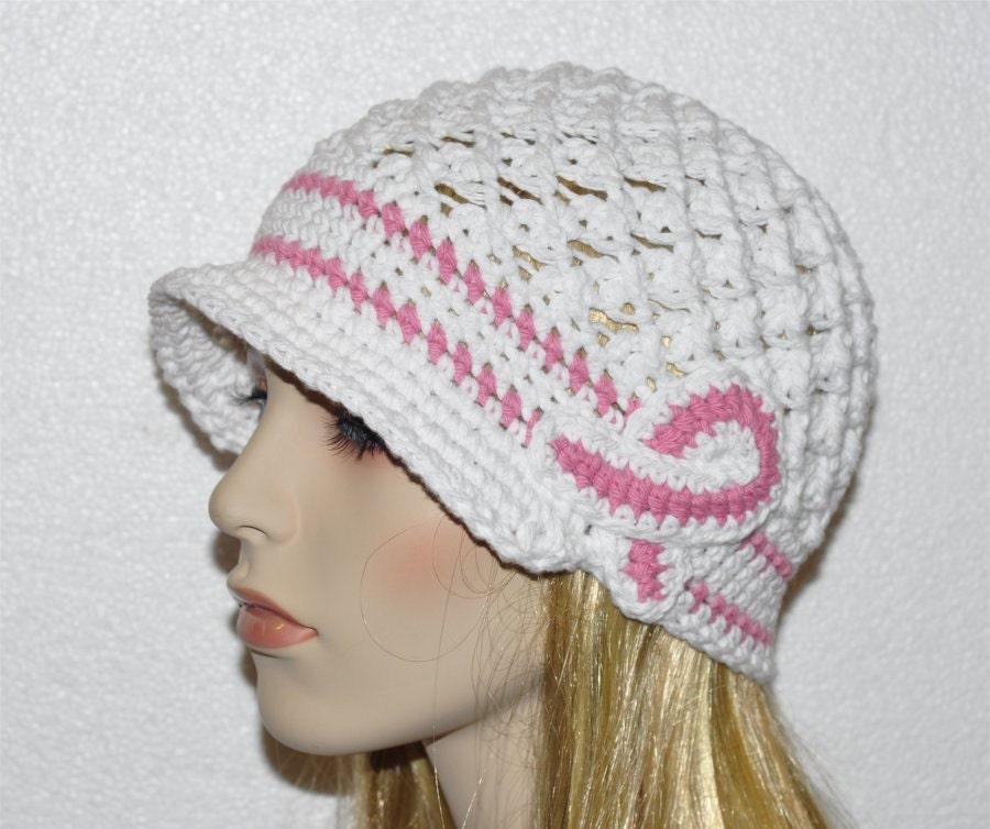 Breast Caner Hat Cancer Hat Ladies Cancer Hat Chemo Hat Etsy