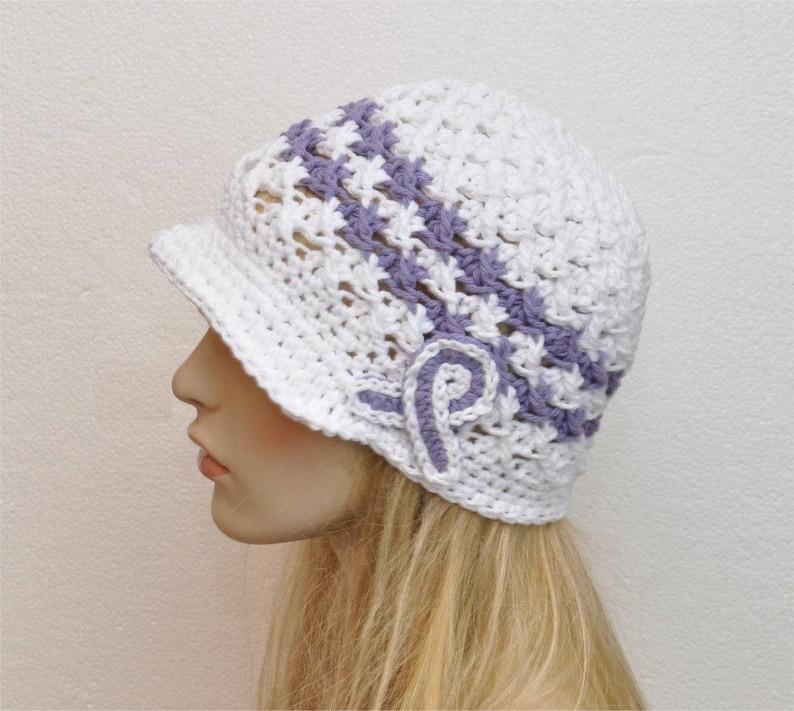 Cancer Awareness Crochet Hat Pancreatic Cancer Awareness Hat Etsy