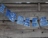 Indigo Dyed Flags