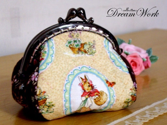 Peter Rabbit Themed Zipped Pouch Pencil Case Pocket Money Coin Purse Wallet Make Up Bag Accessory Holder