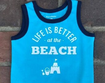 Life is Better at the Beach SVG Cut File   Silhouette Cut File   Cricut Cut File   SVG Cut File   Commercial Use SVG