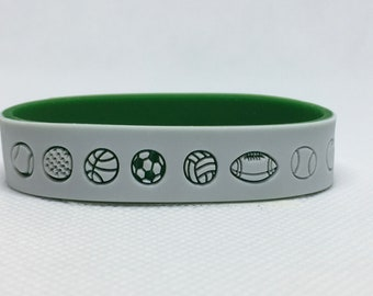 Sports Bracelet with Emergency Contact Information, Child Emergency Bracelet, Custom Emergency Bracelet, Kid Contact ID, Child Bracelets