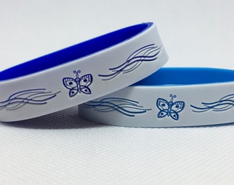 Butterfly Bracelet with Emergency Contact Information