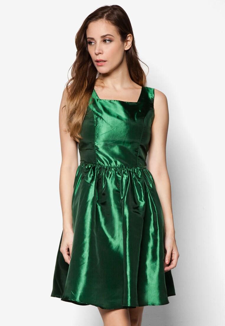Grünes Kleid grün Partykleid grünen Cocktail-Kleid grün